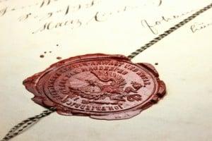 sceau d'invitation