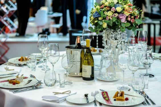 Reception mariage dans un restaurant
