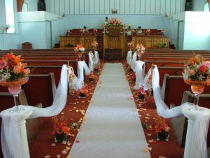 cérémonie de mariage décoration