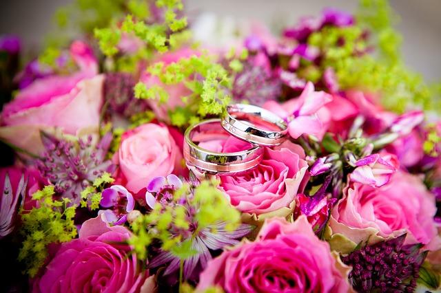 fleurs mariage photo