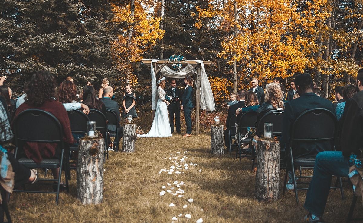 se marier en automne