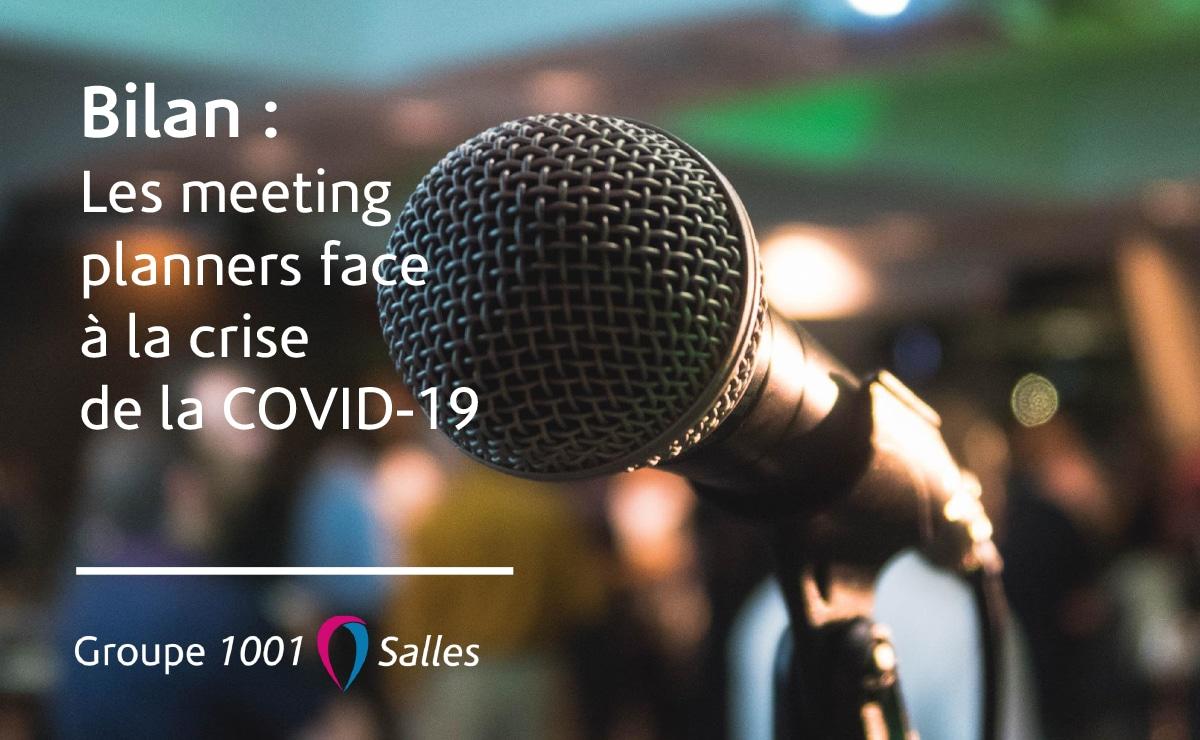 Bilan - Les meeting planners face à la Covid-19